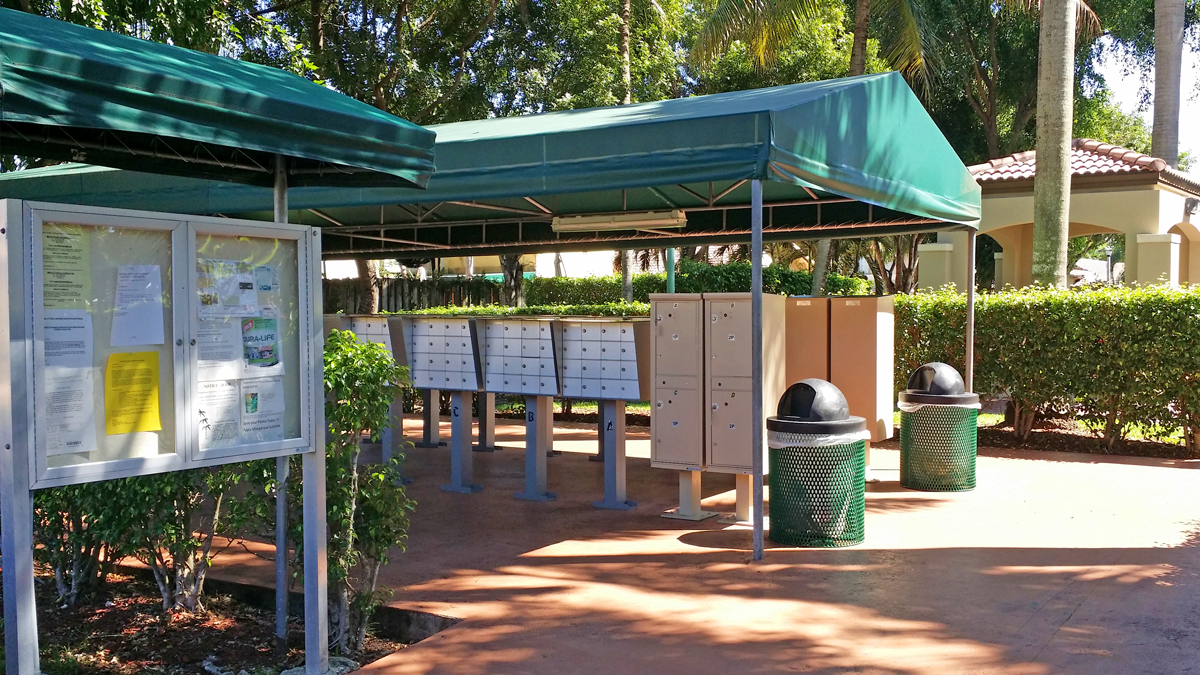 Community Mail Area