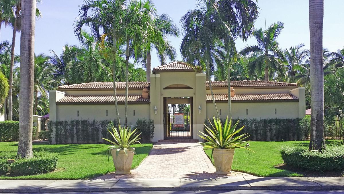 Pool Area Entrance