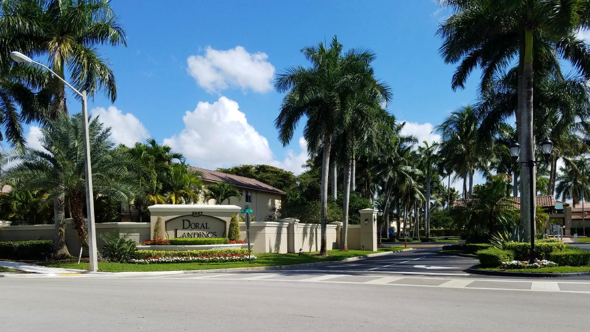 Beautiful Gated Entrance