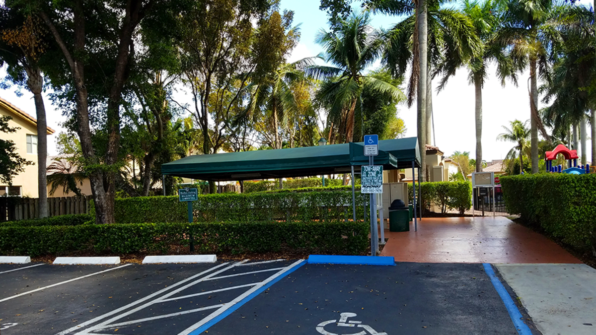 Parking Adjacent to the Mailbox Common Area
